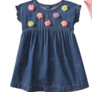 Ruffle Trim Empire Dress and Bloomers Set NWT